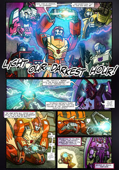 The Transformers: Magnificent Crisis - page 9