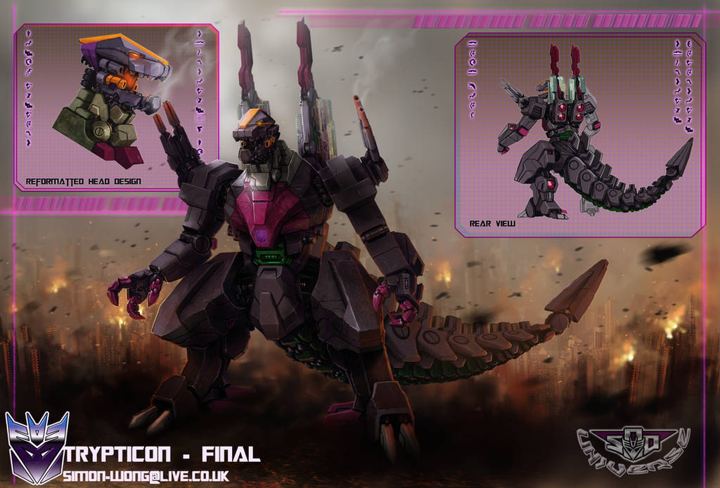 Trypticon 2.0 - Stormbringer II evolution by Tf-SeedsOfDeception