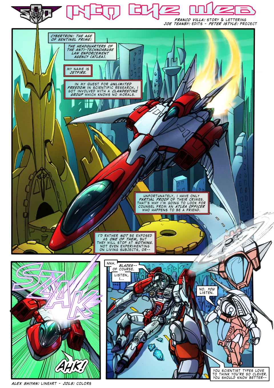 The Transformers - Into the Web - p1