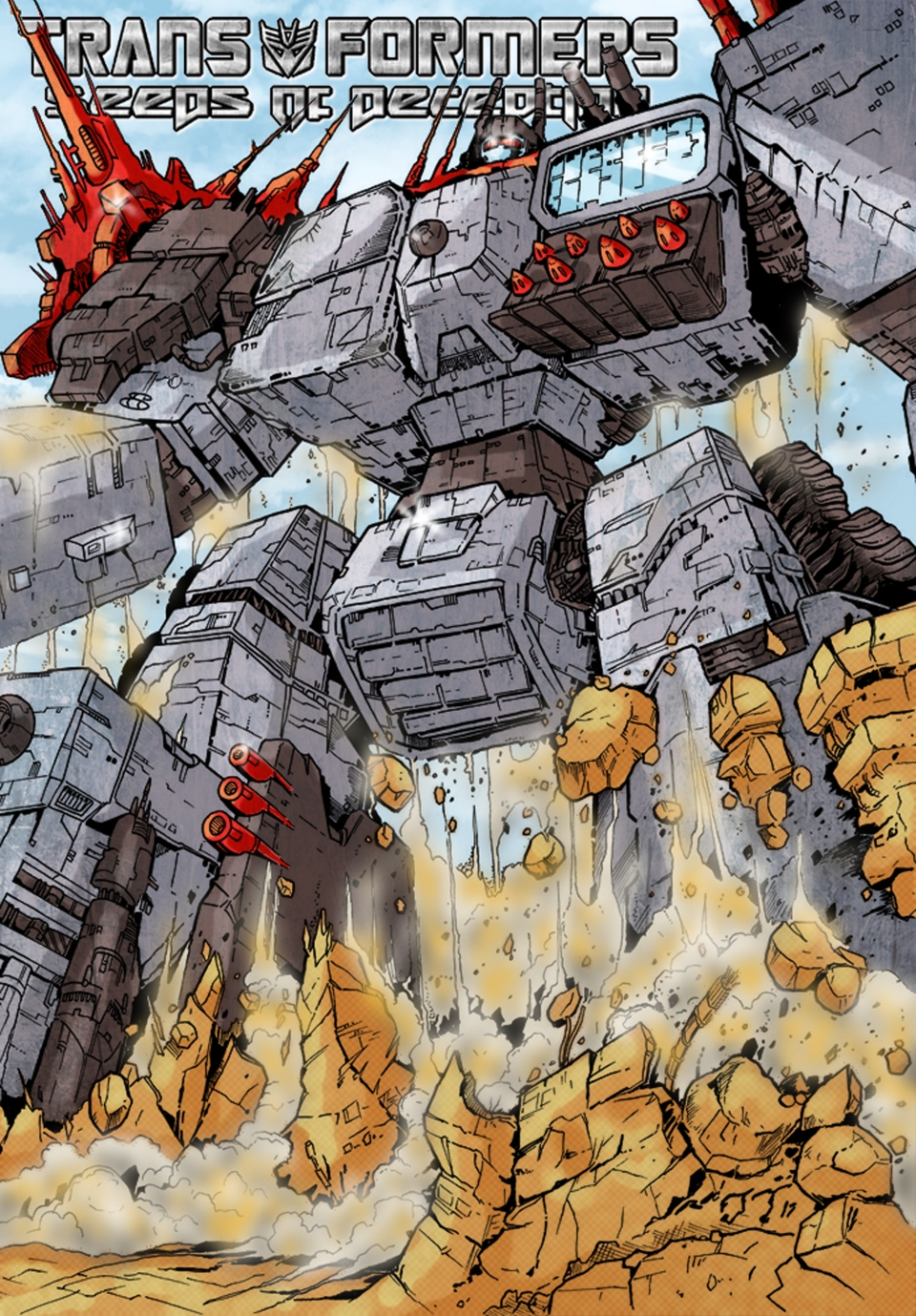 Metroplex bonus art - Emersion by Tf-SeedsOfDeception