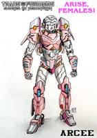 Arcee study for Arise, Females by Tf-SeedsOfDeception