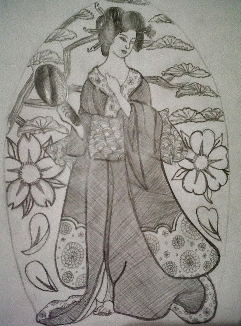 Graphite tattoo design by knikki121 on DeviantArt