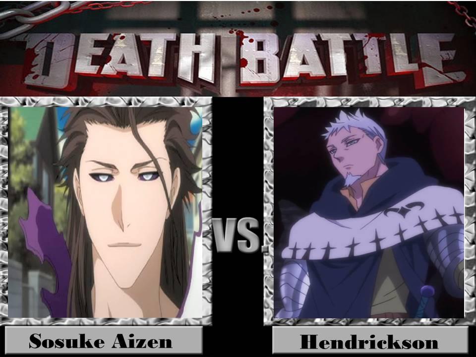 Death Battle Sosuke Aizen vs Hendrickson by jss2141 on
