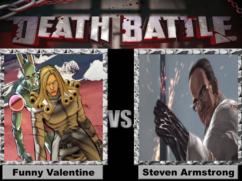 Death Battle Funny Valentine Vs Steven Armstrong By Jss2141 ...