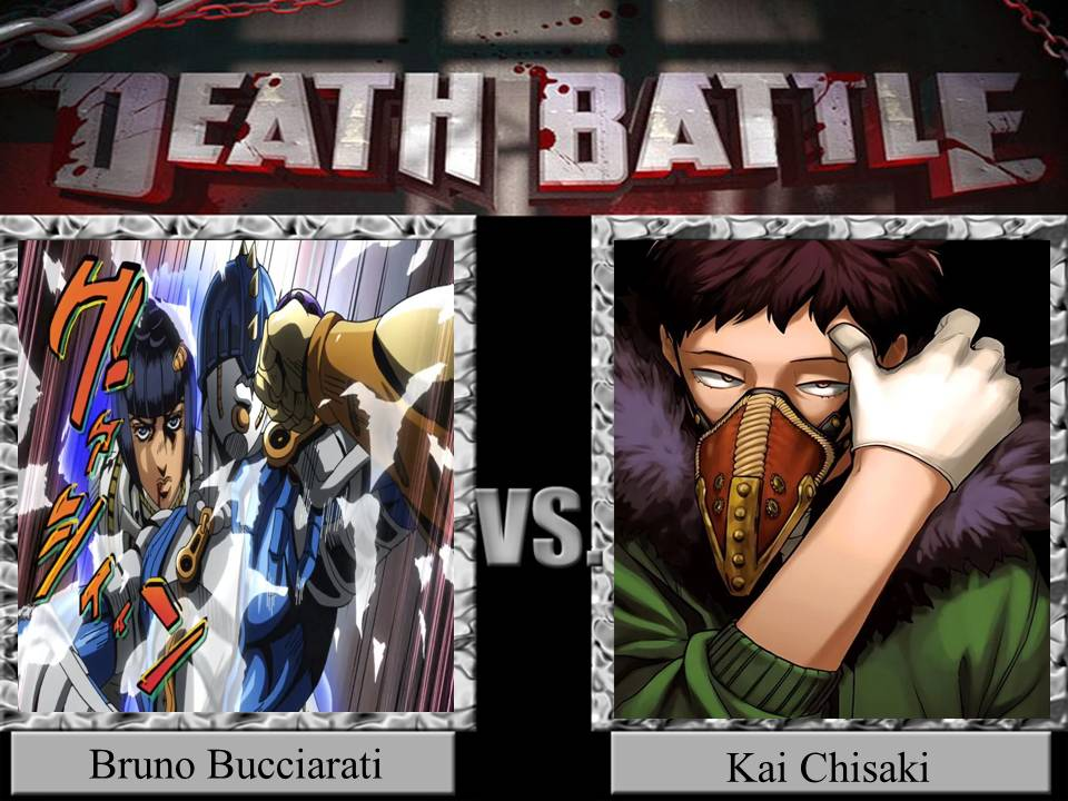 Death Battle Bruno Bucciarati Vs Kai Chisaki By Jss2141 On