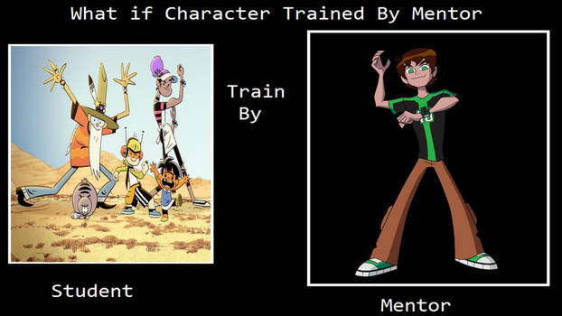 What if Team Cosmic was Trained by Ben 10