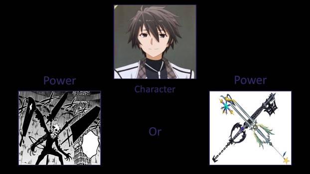 Which Power would Ikki Kurogane have