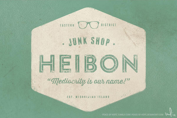 Junk Shop Heibon by peace-of-hope