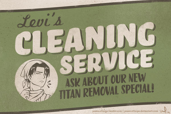 Levi's Cleaning Service by peace-of-hope