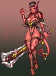 [Commission] Tiefling Lulia