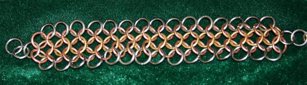 3 Tone Bracelet