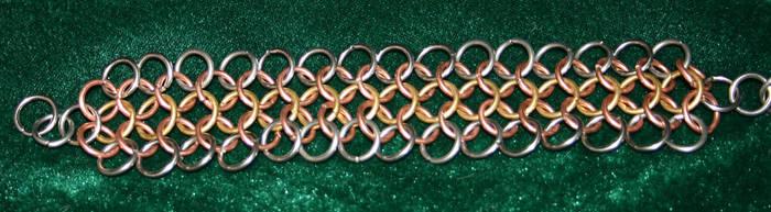 3 Tone Bracelet by skyalin