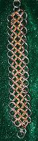 3 tone bracelet small