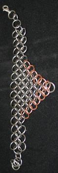 Two tone bracelet by skyalin
