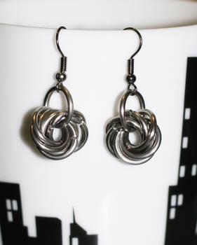 Moebius earrings