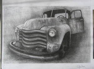 chill old car