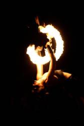 Jongleur de feu I by Kak-Miortvi-Pengvin