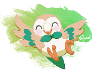 Rowlet by Fofusa