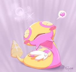 Shiny dunsparce loves you all by Fofusa