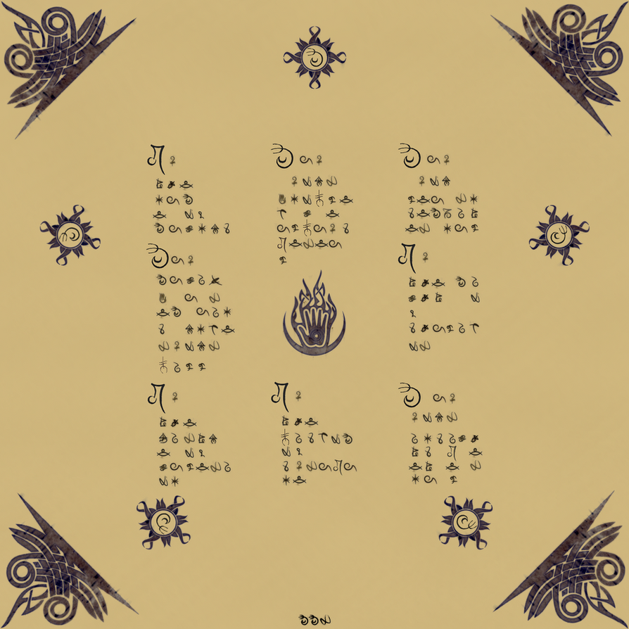 Chant of Magnus by Lattauri-El