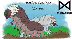 Monster'verse Mothra Lea/Leo Larva