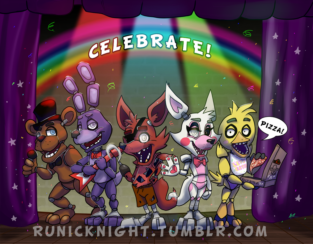 Celebrate! by RunicKnight