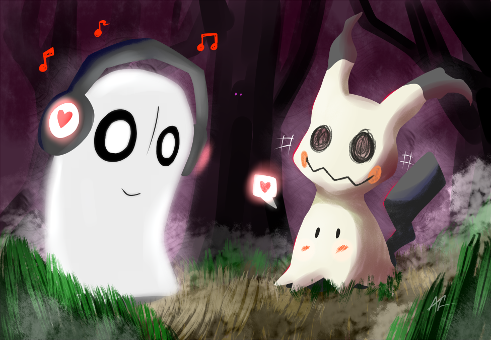 Spooky Woods by RunicKnight