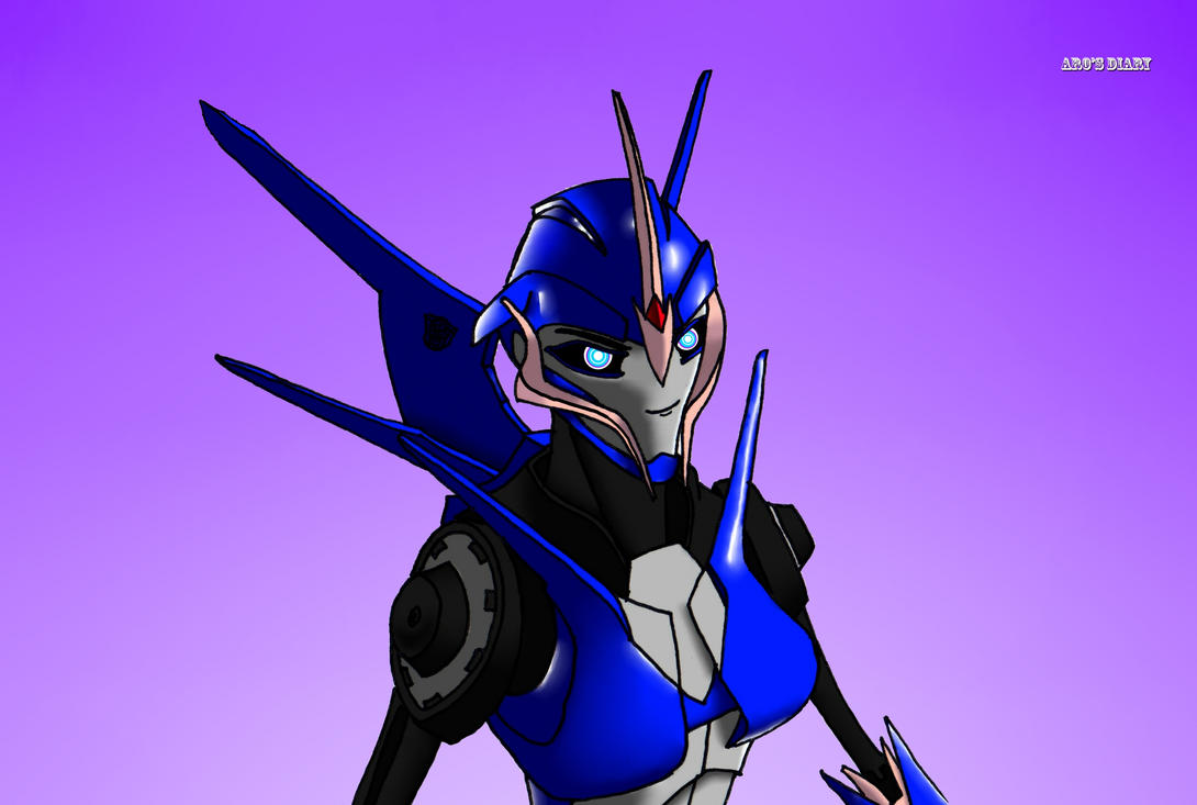 Transformers Prime Arcee by Aronimo717 on DeviantArt