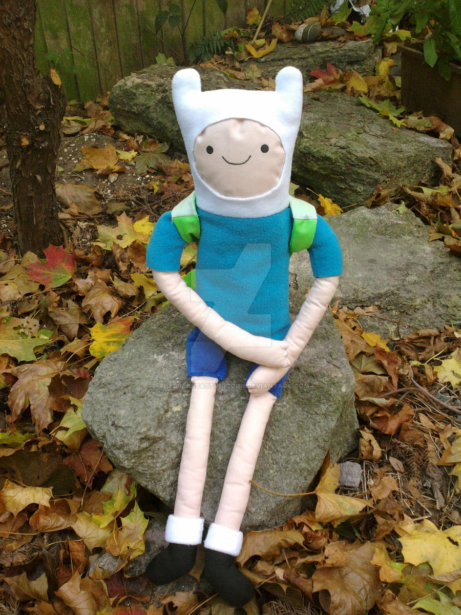 Finn plushie 4 by TheBreakfastUnicorn
