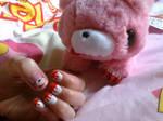 Gloomy bear nails!