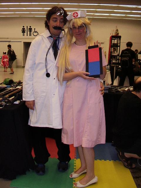 dr mario and nurse peach by demondraven on deviantart