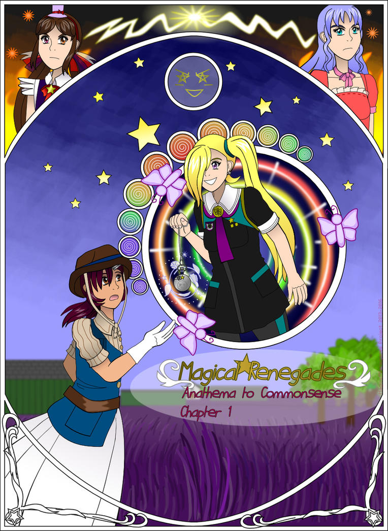 Magical Renegades chapter 1 cover page by Kattlanna