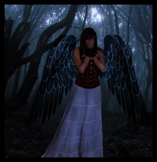 GOTIKAS❤️✝☯★☮ - Página 3 Scared_angel_by_evelynaa
