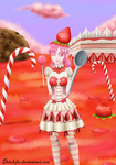 Miss fraisier/ Miss straberry cake by detolefu