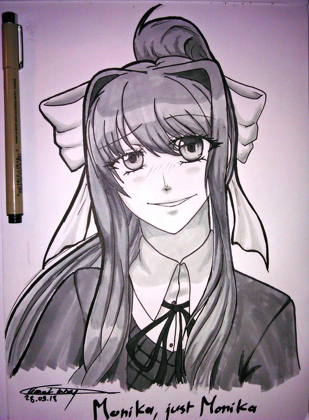 Monika, just Monika