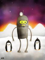 Bender on Pluto by rhinestoner