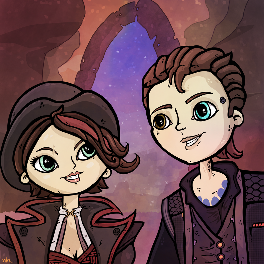 Rhys and Fiona by rhinestoner