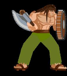 warrior by yarosh
