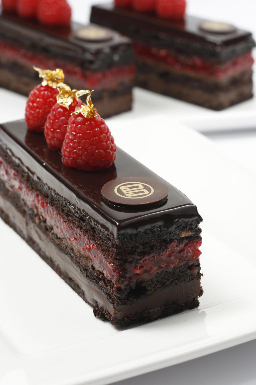 Chocolate Raspberry Ganache Cake Pinterest
