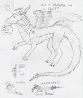 Silverstar Thing - Sketch 2 by DDStuff