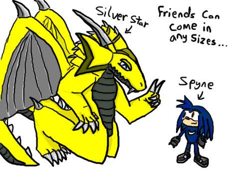 Silver Star  Spyne Gift
