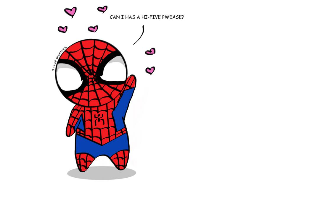 Cute Spiderman Chibi Chibi Spiderman Wants a