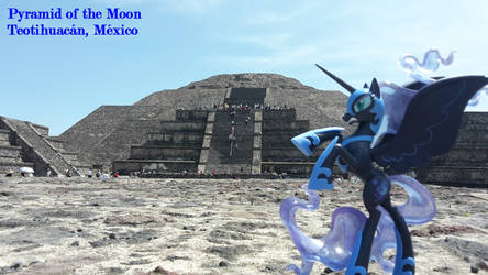 Nightmare Moon at the Pyramid of the Moon