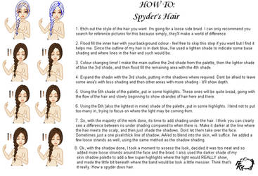 How To: Hair, Spyder's way by SpyderBryte