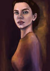 Serene portrait