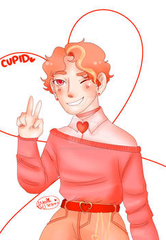Anime Style Cupid
