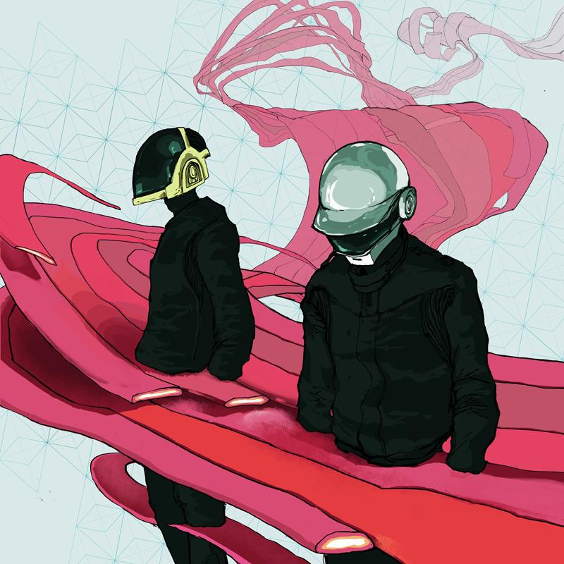 Daft Punk by KRMayer
