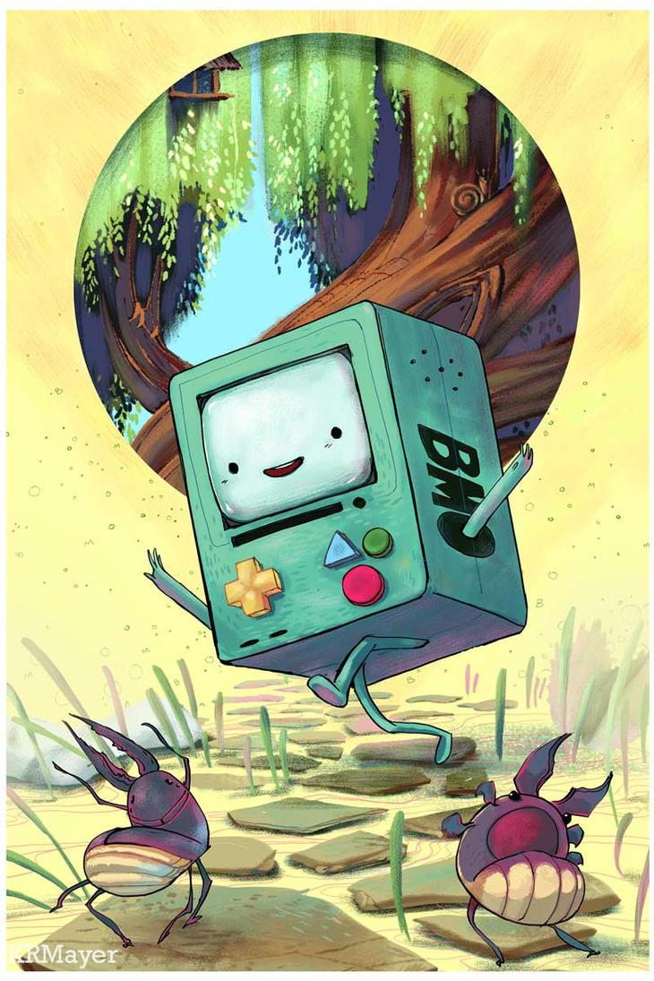 Bmo Fan Art by KRMayer