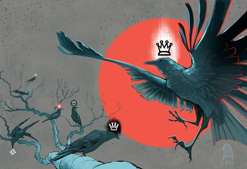 Crow King by KRMayer