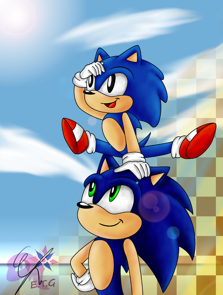Sonic Generations by EllyTheGee